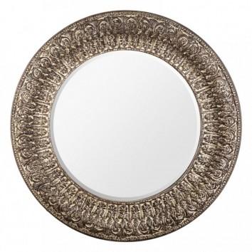 Espejo redondo 136cm marco resina