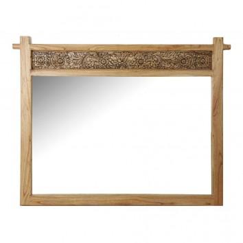 Espejo 155x120cm madera de mindi tallada
