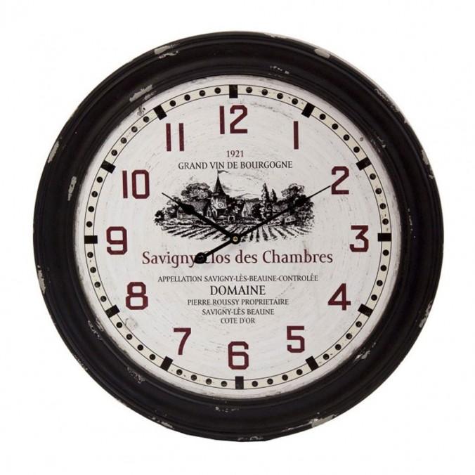 Reloj vintage redondo 60cm madera