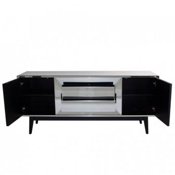 buffet 180cm estilo art d co revestido en vidrio erizho. Black Bedroom Furniture Sets. Home Design Ideas