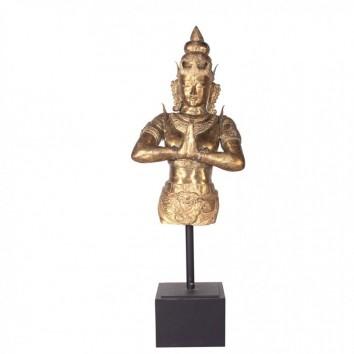 Escultura de bronce diosa oriental 170cm