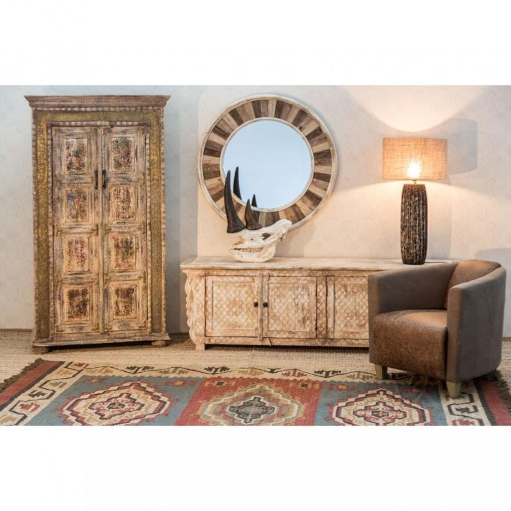 Mueble tv estilo oriental 200cm mango decap erizho - Muebles de estilo oriental ...
