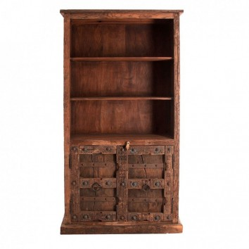 Libreria madera antigua estilo oriental 105x200cm
