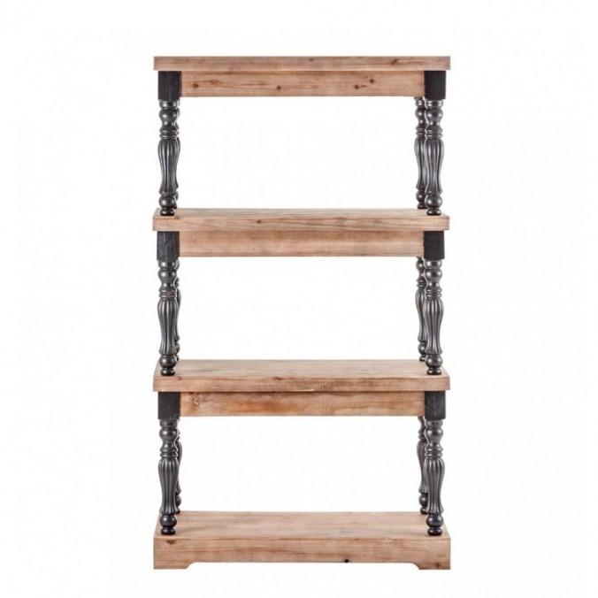 Estantería estilo neoclásico 60x138cm madera de abeto
