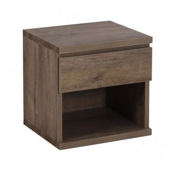Cebecero o cabezal de cama madera 110 200cm estilo nordico for Mesitas de noche 40 cm