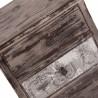 Mesilla de noche 48cm estilo clásico vintage decapé