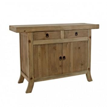 Aparador 130x90cm estilo oriental madera de pino