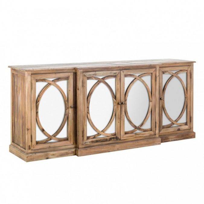 Aparador 170cm de estilo rústico madera de pino
