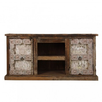 Buffet 195cm madera antigua estilo étnico