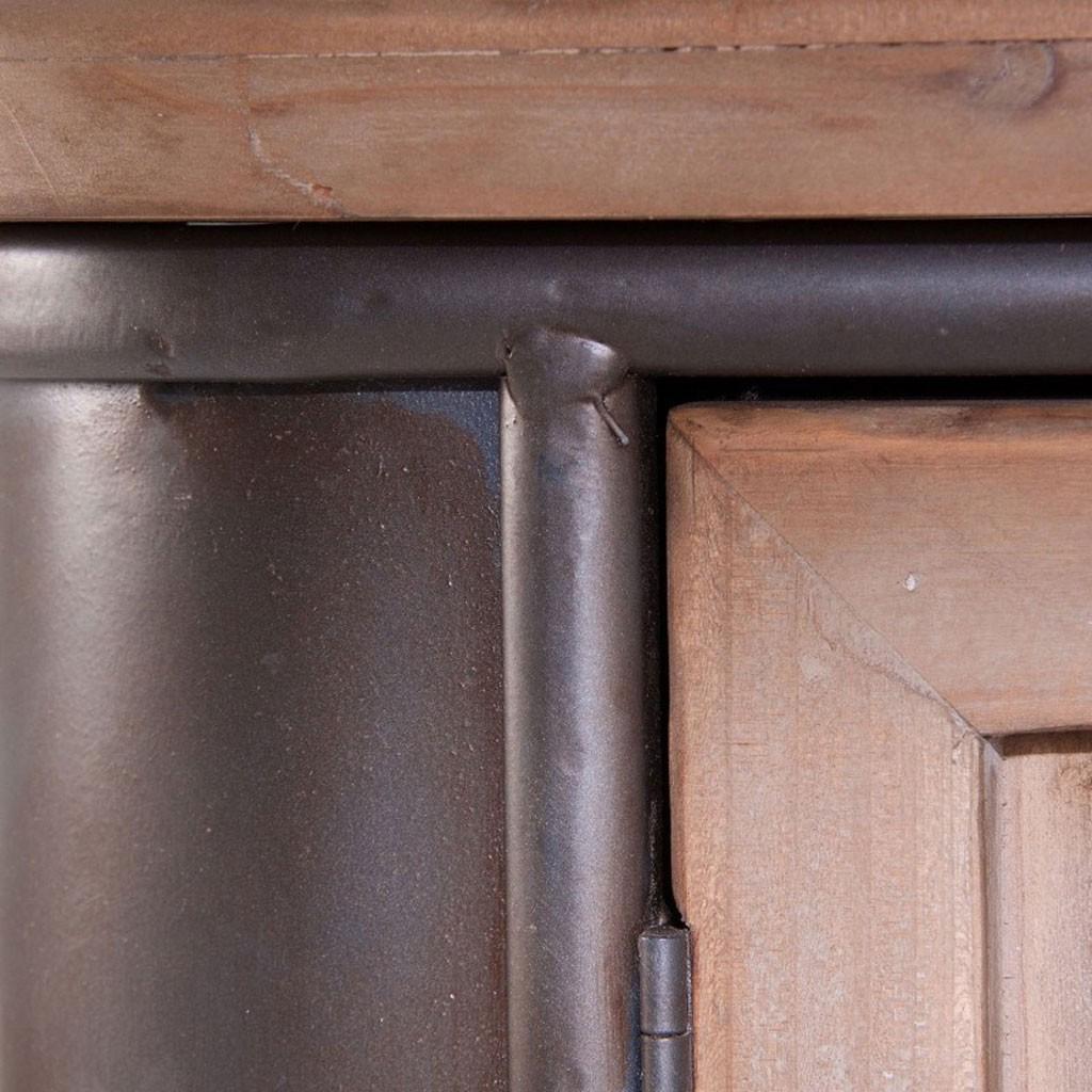 Adesivo De Led Para Copo ~ Aparador 145cm estilo vintage madera y hierro Erizho