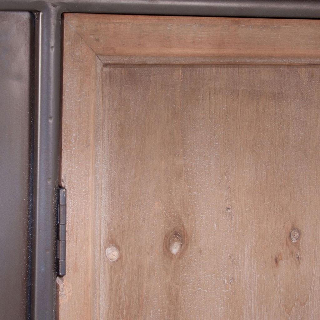 Adesivo De Led Para Copo ~ Aparador 108x100cm estilo vintage madera y hierro Erizho