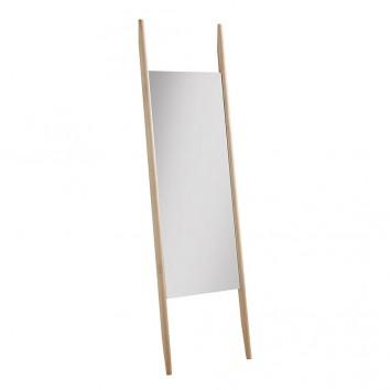 Espejo de pié 46x170cm madera abedul