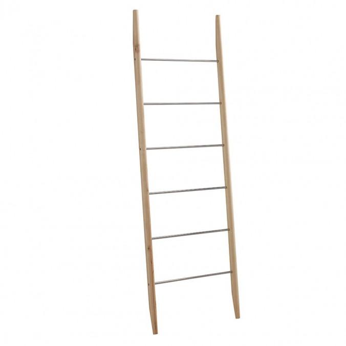 Escalera perchero 55x170cm madera abedul