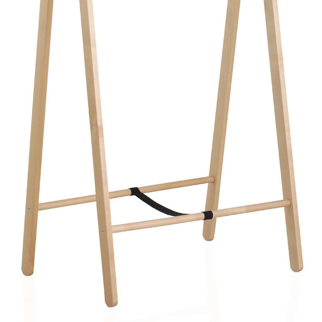 Perchero de pie plegable 100x151cm madera abedul erizho - Madera de abedul ...