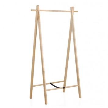 Perchero de pie plegable 100x151cm madera abedul erizho - Percheros de pie zara home ...