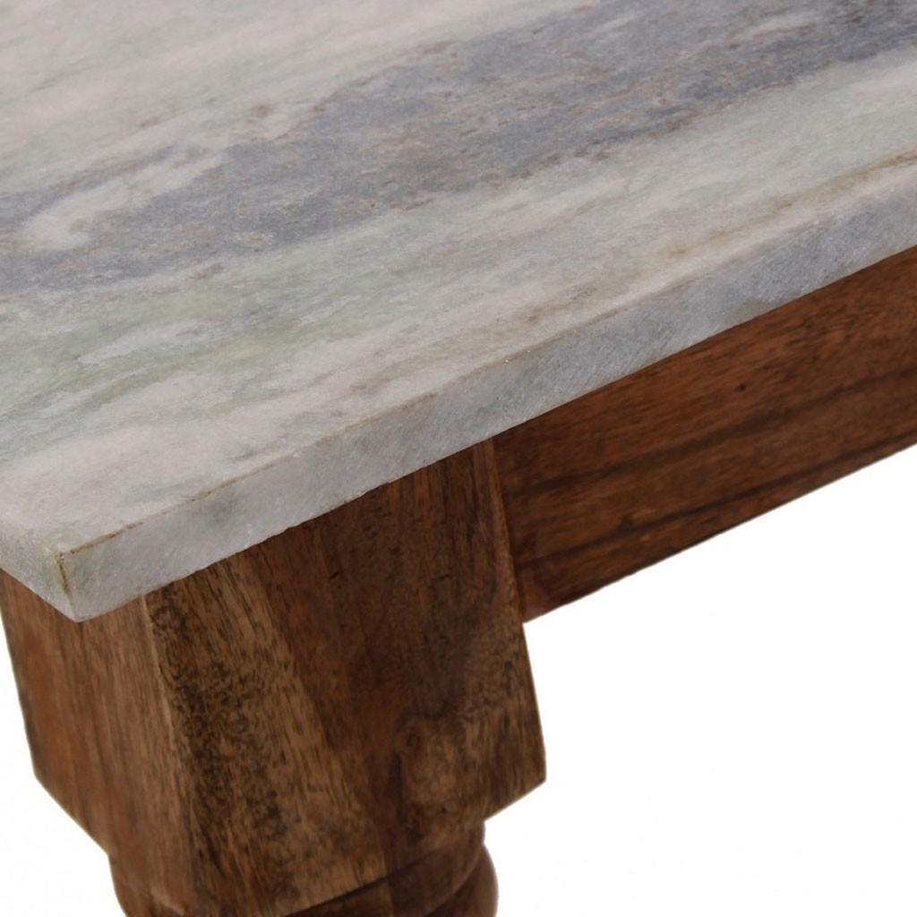 Mesa comedor 140x70cm mármol - Erizho