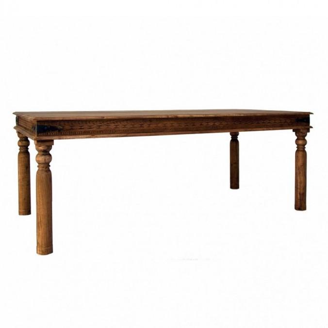 Mesa comedor rústica 200x100cm - Erizho