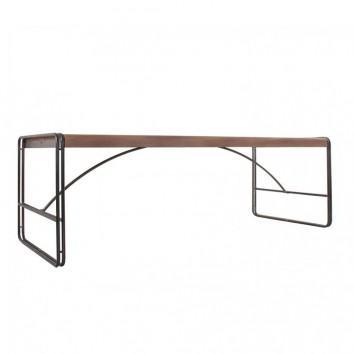 Mesa comedor industrial 240x98cm hierro