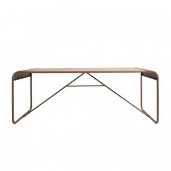 Mesa comedor industrial 200x90cm hierro