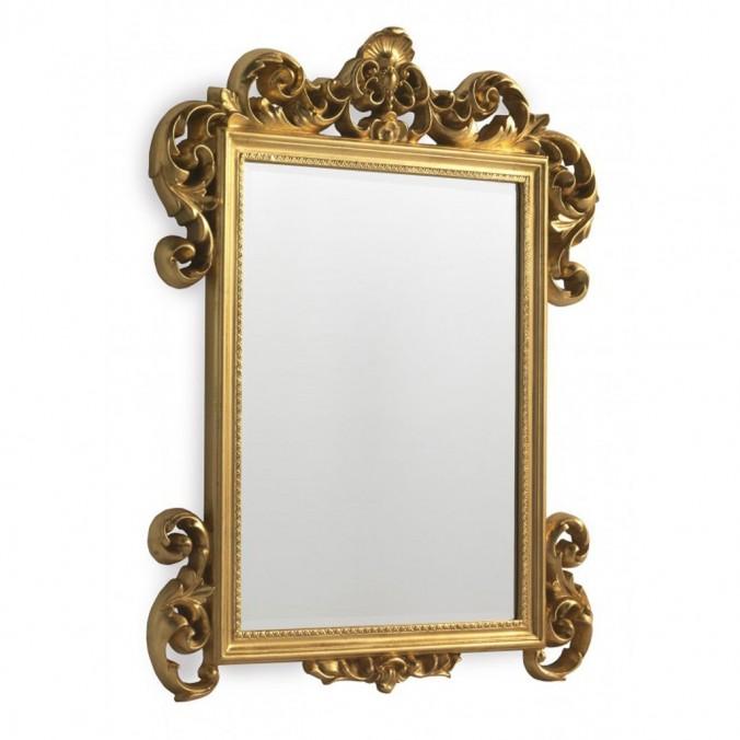 Espejo de pared clásico 45x60cm dmf