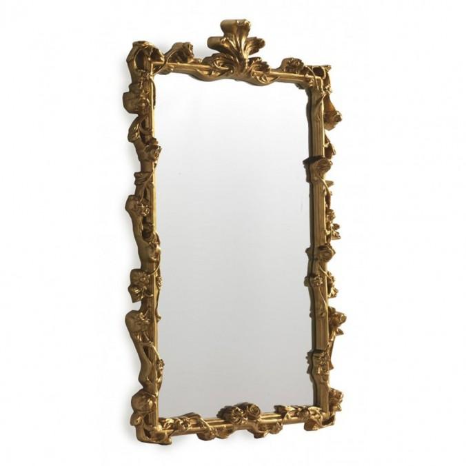 Espejo de pared clásico 47x61cm dmf