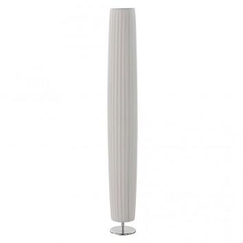 Lámpara de pie pantalla plisada 120x15cm