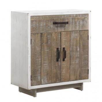 Cómoda estilo vintage 65x73cm en madera decapé