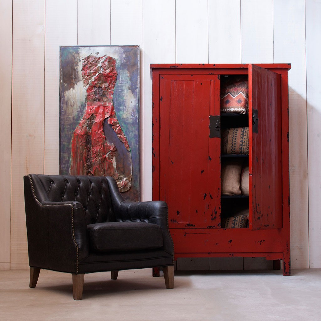 Adesivo De Parede Wonder Woman ~ Armario estilo oriental 120x180cm madera de pino Erizho