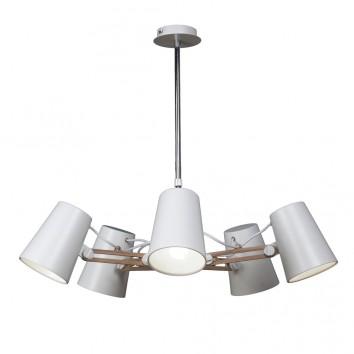 Lámpara de techo 5 luces estilo escandinavo