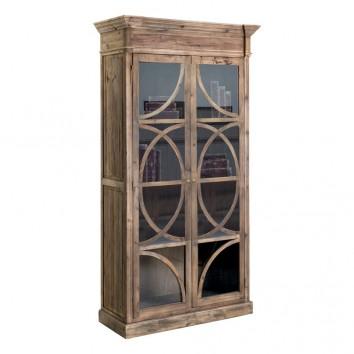 Vitrina estilo colonial 120x230cm madera de pino