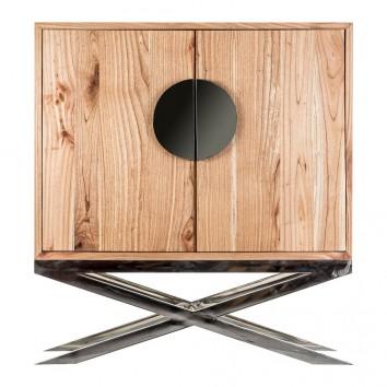 Armario estilo art decó 120x129cm madera de mindi