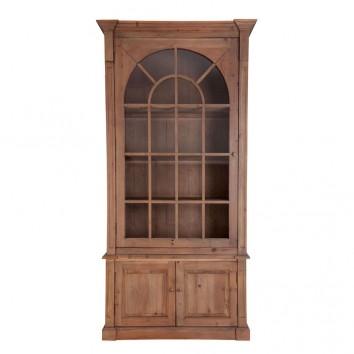Vitrina estilo colonial 115x230cm madera de pino