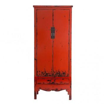 Armario estilo oriental 78x195cm madera de olmo