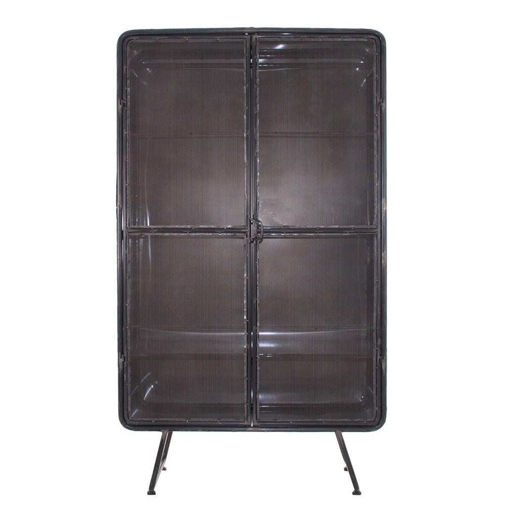 Armario estilo industrial 100x175cm hierro erizho - Armarios de hierro ...