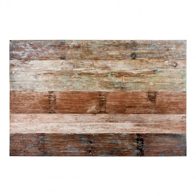 Cabezal 160x110cm de madera Mahogany