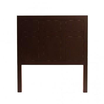 Cabezal estilo oriental 100x110cm madera de abeto
