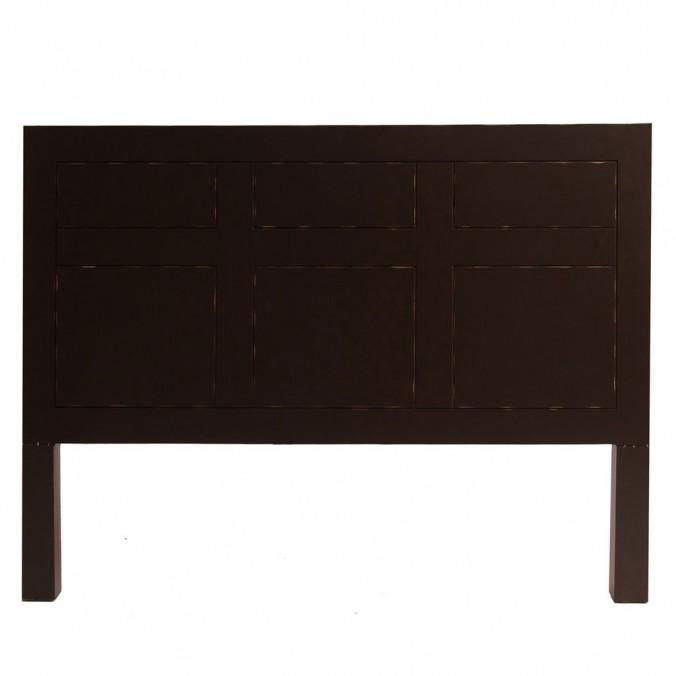 Cabezal estilo oriental 160x120cm madera de abeto