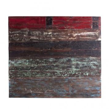 Cabezal vintage 110x100cm de madera Mahogany
