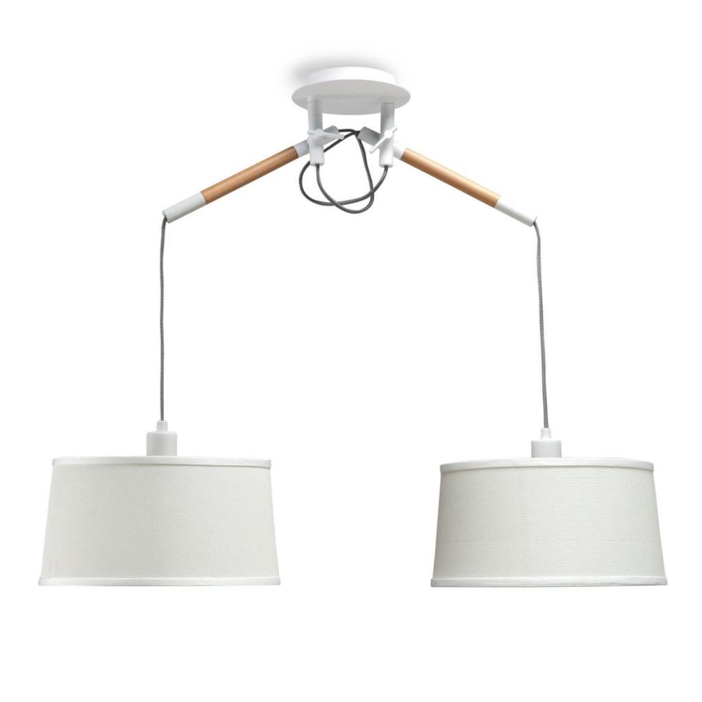 techo nórdico Lámpara colgante luces de estilo Erizho 2 ED9I2H