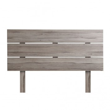 Cabezal madera estilo nordico color roble blanco