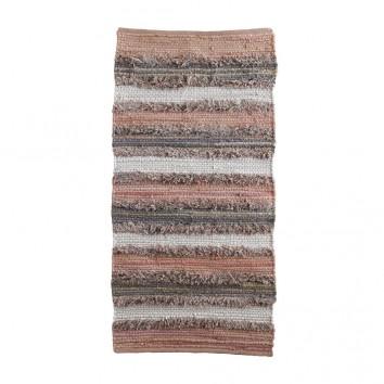 Alfombra hilos multicolor 60x120cm