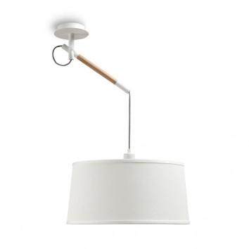 Lámpara de techo colgante 1 luz estilo nórdico