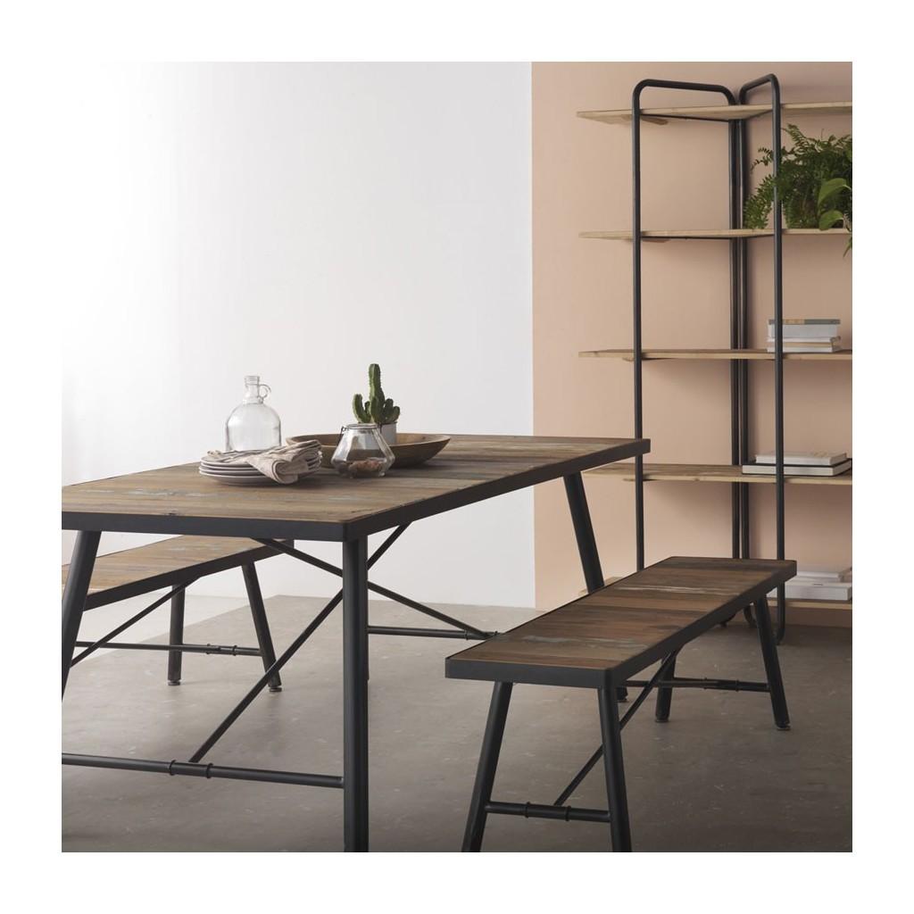 Mesa comedor 190x90 estilo vintage industrial erizho - Mesas estilo industrial baratas ...