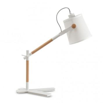 Lámpara de mesa orientable estilo nórdico