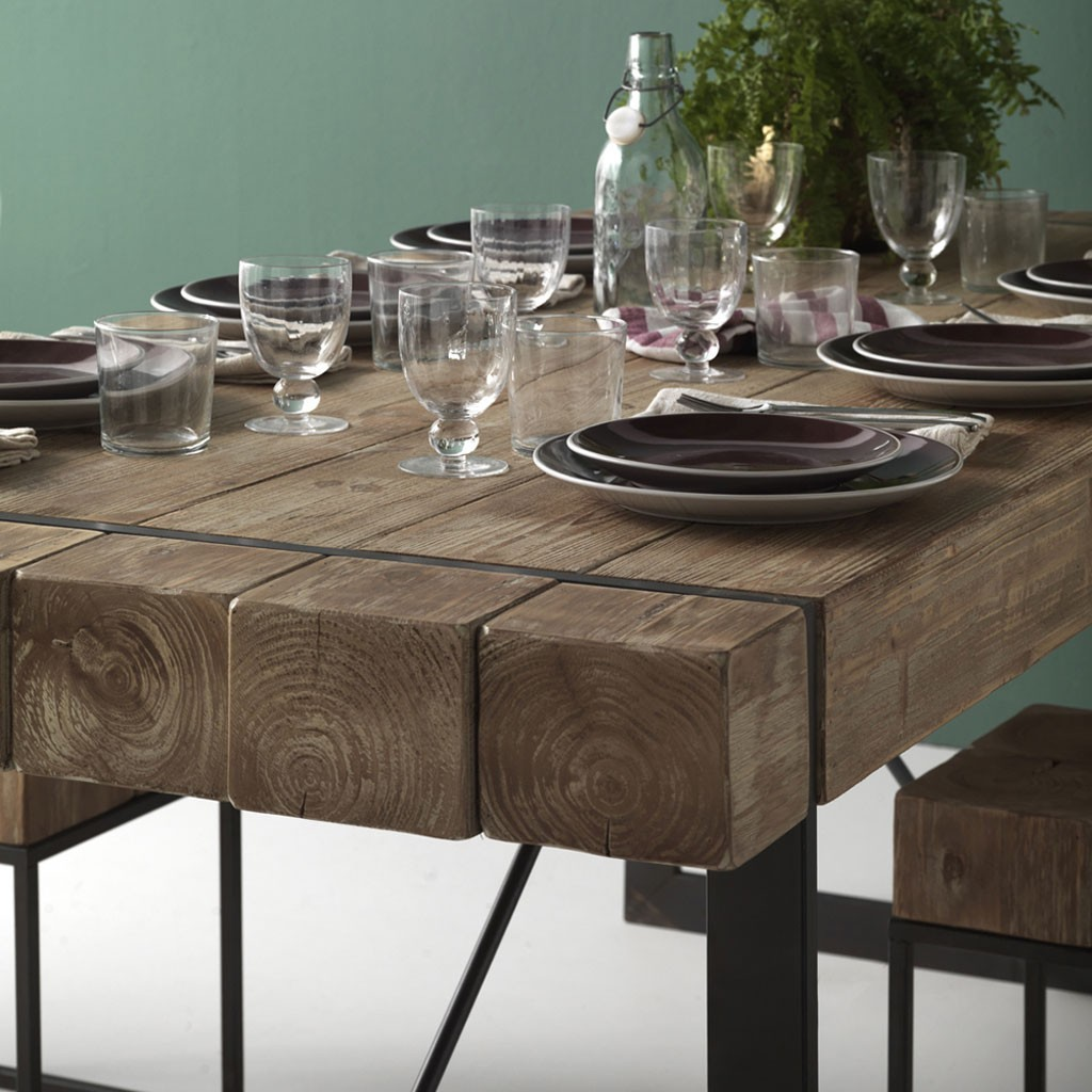 mesa comedor estilo industrial elegant mesa de comedor
