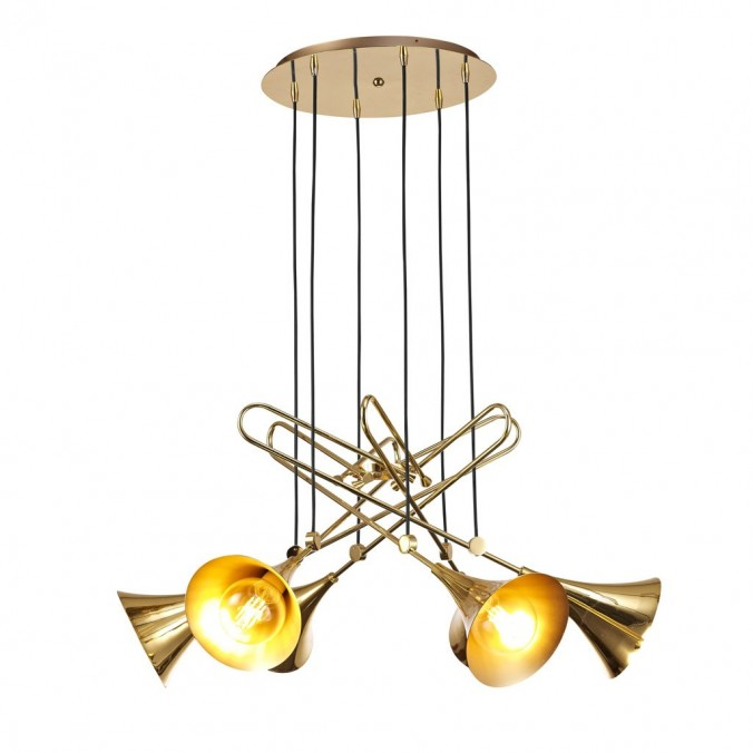 Lámpara techo 6 luces estilo JAZZ