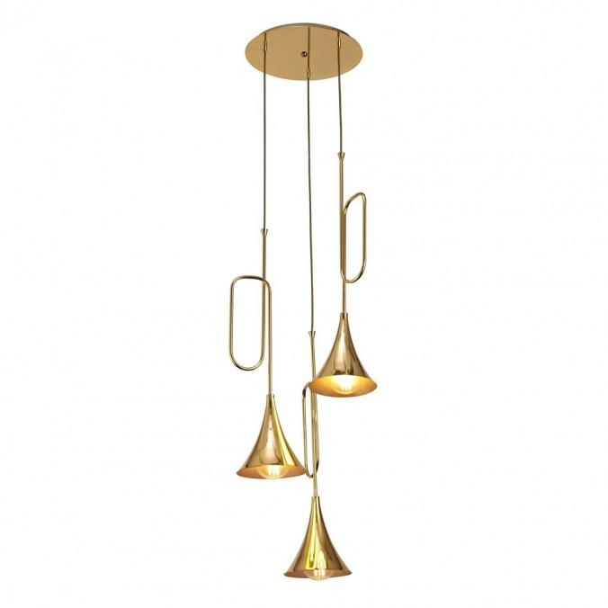 Lámpara techo 3 luces estilo JAZZ