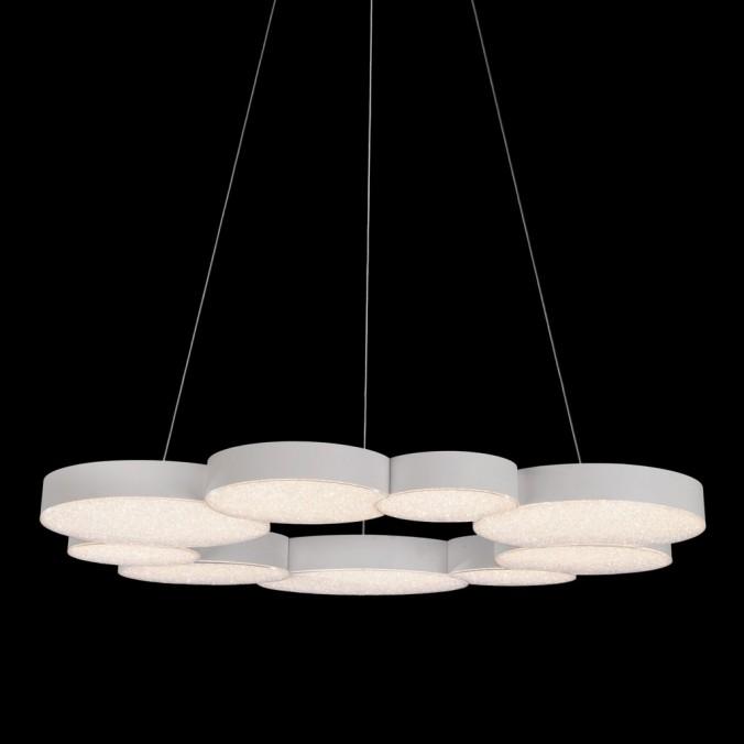 Lámpara de techo suspensión led LUNAS 80cm