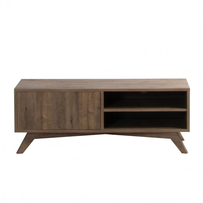 Mueble TV estilo nordico escandinavo 120cm roble