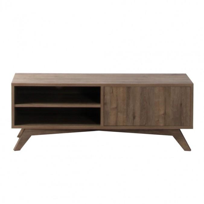 mueble television estilo nordico 120cm roble